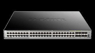 D-link 44-port GE PoE 370W Layer 3 Stackable Managed Gigabit Switch including 4- PC