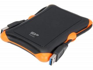 Silicon Power Külső HDD - A30, USB 3.0, 1TB, Ütésálló, Black PC