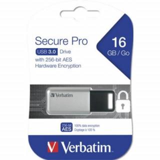 Verbatim Pendrive, 16GB, USB 3.0, 100/20MB/sec, PC & MAC, GDPR, VERBATIM