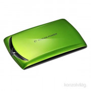 Silicon Power Stream S10 500GB USB3.0 zöld winchester PC