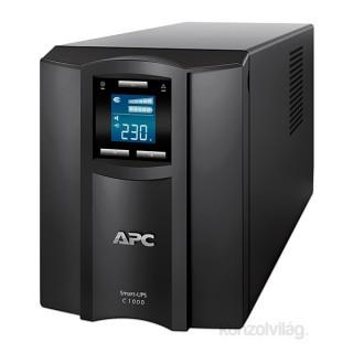 APC Smart-UPS C 1000VA LCD szünetmentes tápegység PC