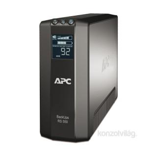 APC BACK RS 550VA LCD szünetmentes tápegység PC