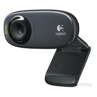 Logitech C310 720p mikrofonos fekete webkamera PC