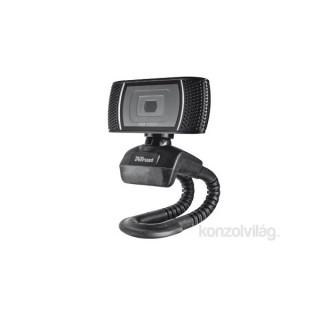 Trust Trino HD mikrofonos fekete webkamera PC