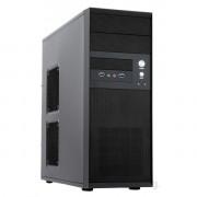 Chieftec CQ-01B-U3-OP Mesh szériás táp nélküli fekete mATX / ATX ház PC