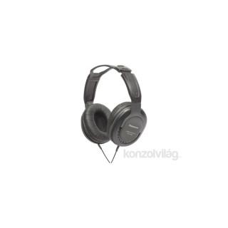 Panasonic RP-HT265E-K 3.5mm jack fekete stúdió fejhallgató PC
