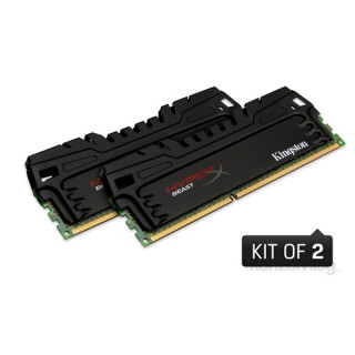 Kingston 16GB/1600MHz DDR-3 HyperX Beast XMP (Kit! 2db 8GB) (KHX16C9T3K2/16X) memória PC