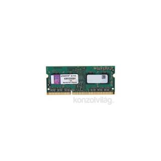 Kingston 4GB/1333MHz DDR-3 SR x8 (KVR13S9S8/4) notebook memória PC