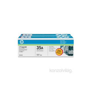 HP CB435AD (35A) duo-pack fekete toner PC