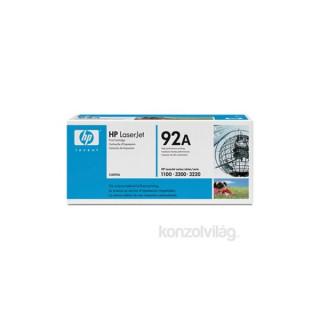 HP C4092A (92A) fekete toner PC