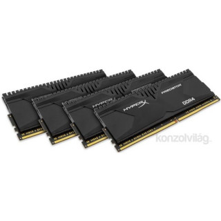 Kingston 16GB/2133MHz DDR-4 HyperX Predator XMP (Kit 4db 4GB) (HX421C13PBK4/16) memória PC