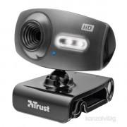 Trust eLight Full HD 1080p mikrofonos fekete webkamera PC