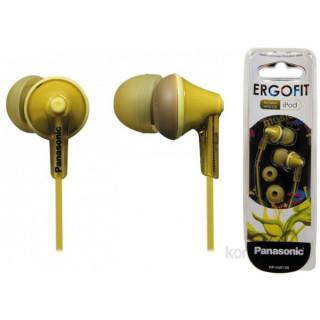 Panasonic RP-HJE125E-Y sárga fülhallgató PC