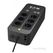 EATON 3S 700 DIN 420W fekete szünetmentes tápegység PC