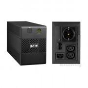 EATON 5E 850iUSBDIN 480W fekete szünetmentes tápegység PC