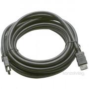 PRC HDMI - HDMI 1.4 aranyozott 3m kábel PC