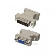 PRC DVI-I (Male) - D-Sub (VGA) (Female) átalakító PC