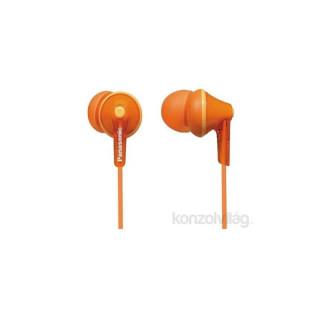 Panasonic RP-HJE125E-D narancssárga fülhallgató PC