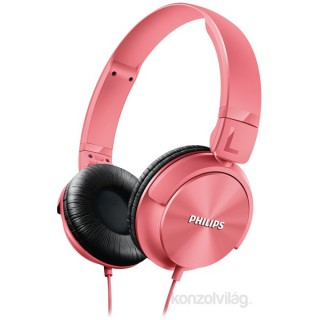 Philips SHL3060 pink hordozható fejhallgató PC