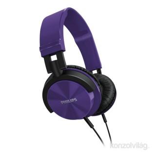 Philips SHL3060 lila hordozható fejhallgató PC
