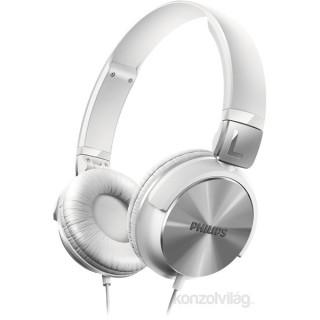 Philips SHL3160 fehér hordozható fejhallgató PC