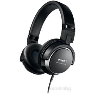 Philips SHL3260 fekete prémium hordozható fejhallgató PC
