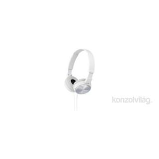 Sony MDRZX310W.AE fehér fejhallgató PC
