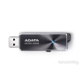 ADATA 64GB USB3.0 Fekete (AUE700-64G-CBK) Flash Drive PC