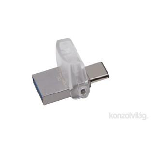Kingston 64GB microUSB3.1 C/USB3.1 A Ezüst (DTDUO3C/64GB) Flash Drive PC