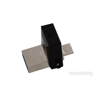 Kingston 64GB microUSB3.0 / USB3.0 Fekete (DTDUO3/64GB) Flash Drive PC