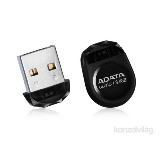 ADATA 16GB USB2.0 Fekete (AUD310-16G-RBK) Flash Drive PC