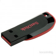 Sandisk 8GB USB2.0 Cruzer Blade Fekete-Piros (104335) Flash Drive PC