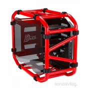In Win D-Frame Mini Piros-Fekete (Táp nélküli) mini-ITX ház PC