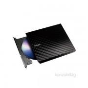 ASUS SDRW-08D2S-U LITE/DBLK/G/AS USB dobozos fekete DVD író PC