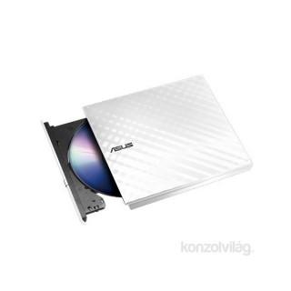 ASUS SDRW-08D2S-U LITE/WHITE/ASUS USB dobozos fehér DVD író PC