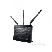 ASUS RT-AC68U/EEU/13/P_EU Vezeték nélküli 1900Mbps Router PC