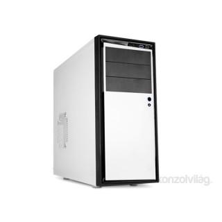 NZXT Source 210 Mid Tower Elite Fehér (Táp nélküli) ATX ház PC