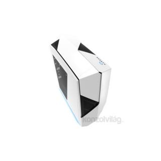 NZXT Noctis 450 Fehér (Táp nélküli) ATX ház PC
