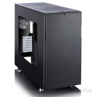 Fractal Design Define R5 Fekete ablakos (Táp nélküli) ATX ház PC