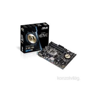 ASUS H97M-E Intel H97 LGA1150 mATX alaplap PC