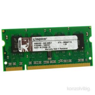 2cbc461bad88 Kingston-Apple 1GB/667MHz DDR-2 (KTA-MB667/1G) notebook memória PC ...