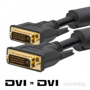 Delight 5m Dual-link DVI kábel PC