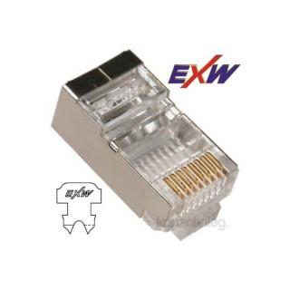 EXW CAT5E STP Modulár Dugó 8P8C RJ45 patch kábelekhez 20db PC