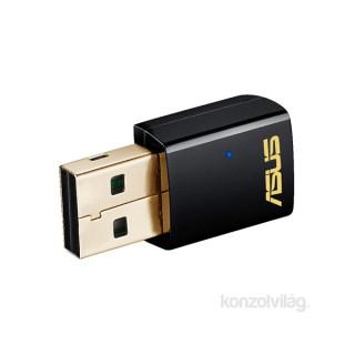 ASUS USB-AC51/EU/13 Vezeték nélküli 150Mbps + 433Mbps USB adapter PC