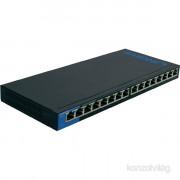 Linksys SMB LGS116 16port 10/100/1000Mbps LAN nem menedzselhető asztali Switch PC