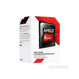 AMD A8 3,10GHz Socket FM2+ (7600) box processzor PC