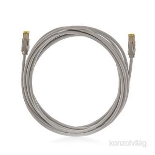 KE-Line Cat6A 10Gigabit STP Patch Kábel 0,5m PC