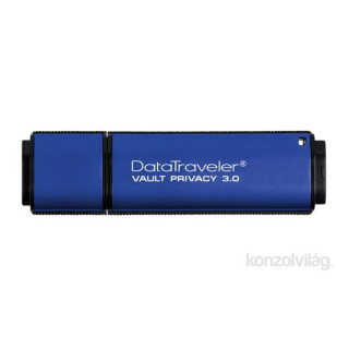 Kingston 32GB USB3.0 Kék +ESET Anti-Virus (DTVP30AV/32GB) Flash Drive PC