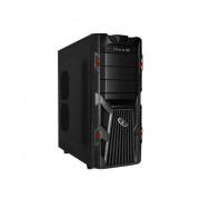 Gembird CCC-GJ-002-R táp nélküli fekete-piros ATX ház PC