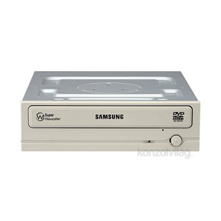 Samsung SATA 24x SH-224FB/BEWE OEM fehér DVD író PC